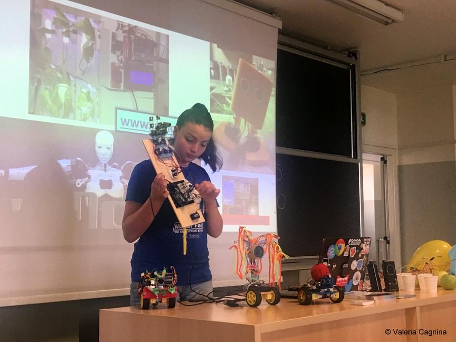 I miei robot a Modena valeria cagnina università