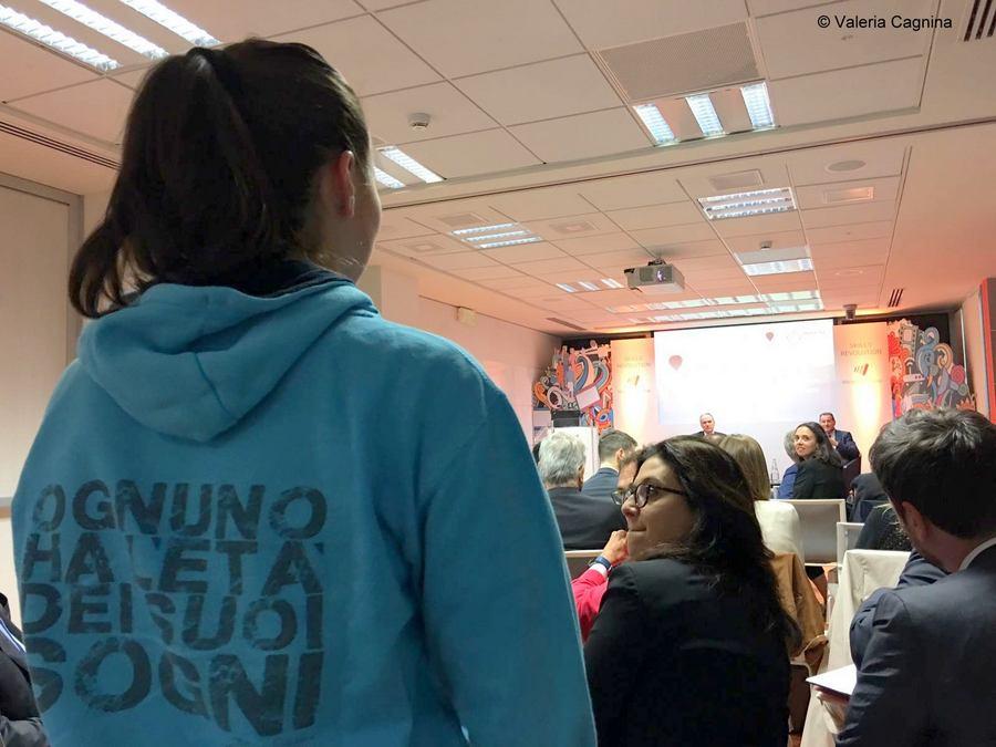 Stefano Scabbio ha incontrato Pietro Guindani al Talent Talk di Human Age Institute Valeria Cagnina