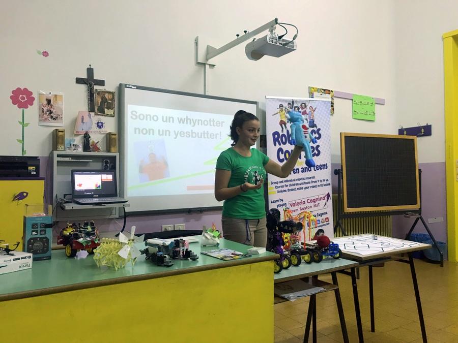 speaker at the 1st meeting docenti puglia valeria cagnina