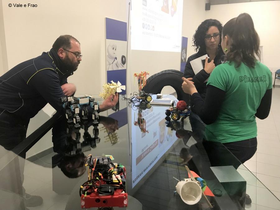 Formazione e team building in azienda: Michelin formazione robot