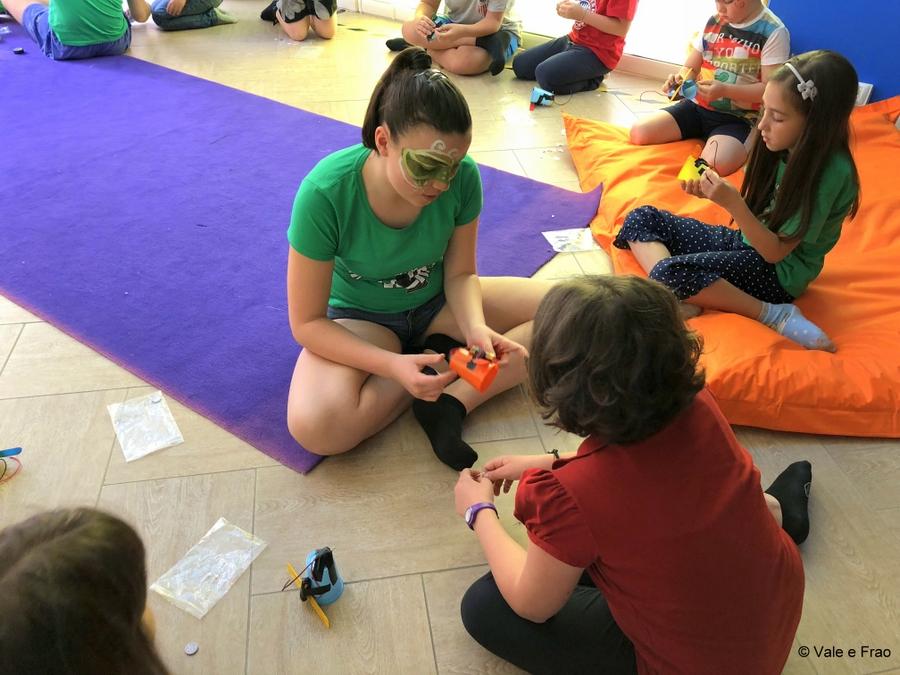 Corso per bambini dalla 2° alla 5° elementare cotruisci il tuo robot