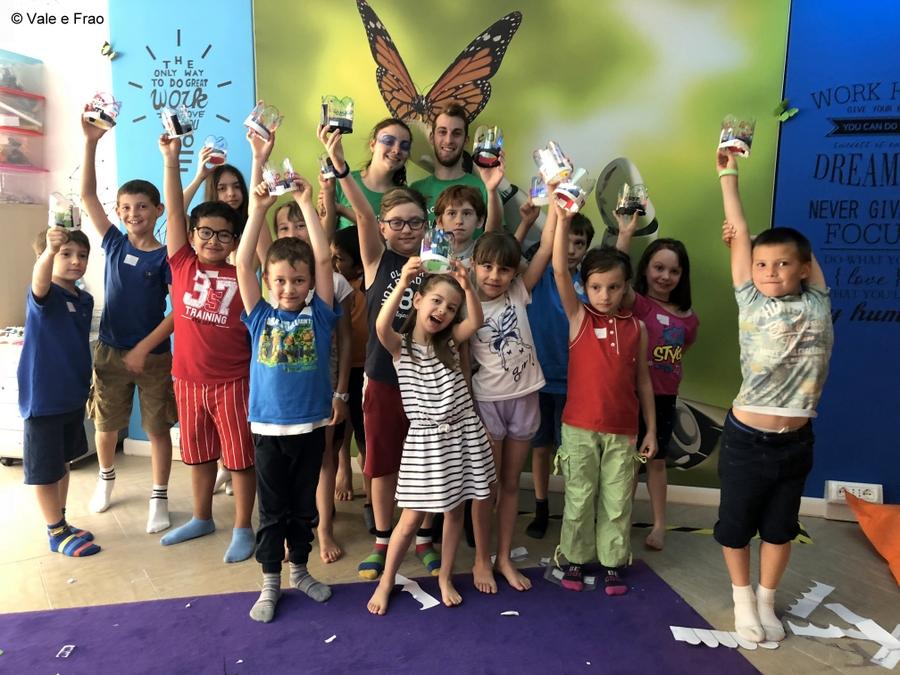 Corso per bambini dalla 2° alla 5° elementare ad alessandria con valeria e francesco