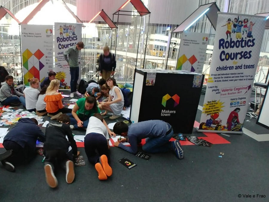 MakersTown 2018: fiera maker a Bruxelles attività