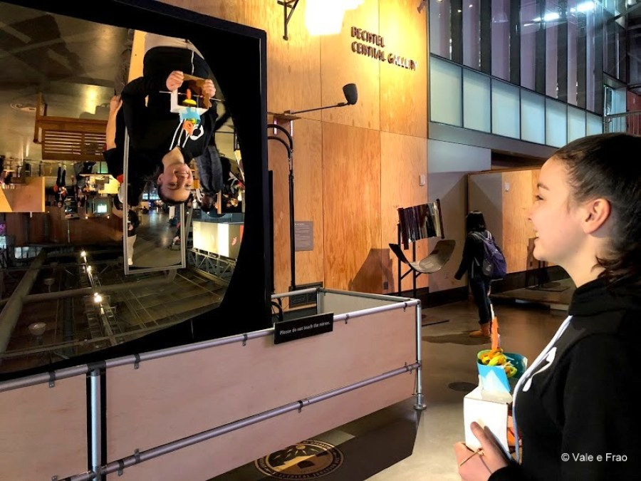 visitare Exploratorium il museo della scienza di San Francisco California gioco
