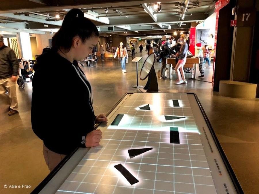 visitare Exploratorium il museo della scienza di San Francisco California sperimentare attività