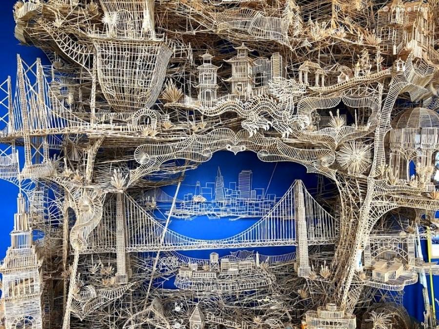 visitare Exploratorium il museo della scienza di San Francisco California stecchi