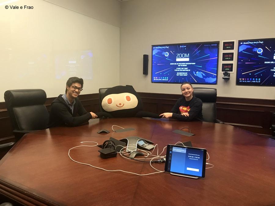 Visitare gli uffici di Github a San Francisco California la sala ovale