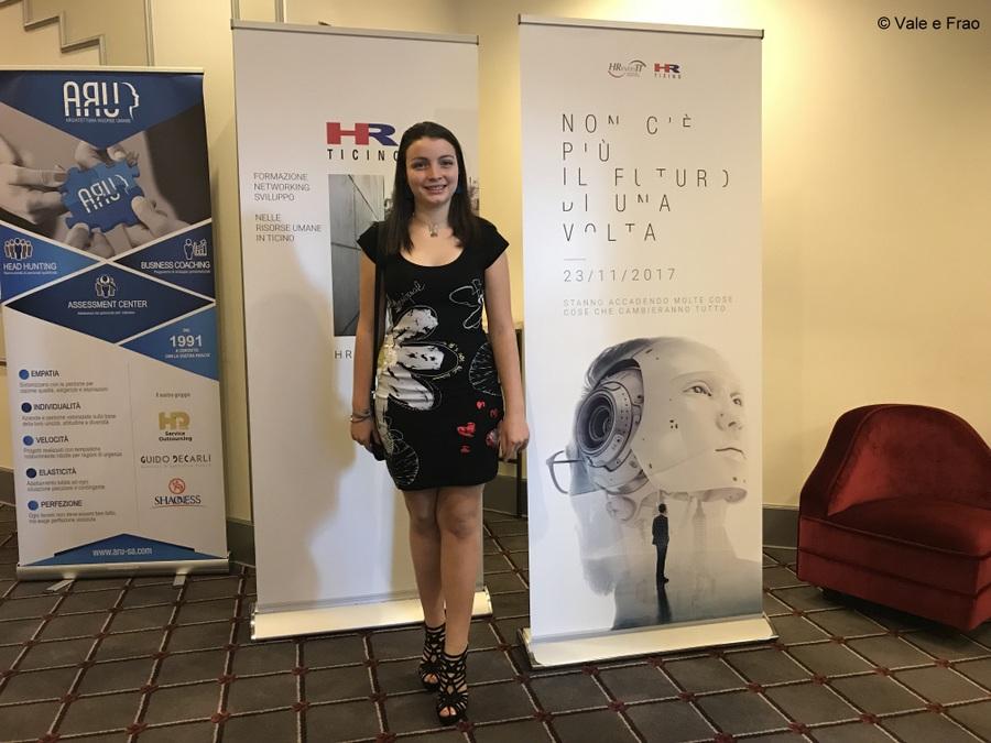 Conferenza a Lugano: sono speaker. Inizio conferenza innovativa