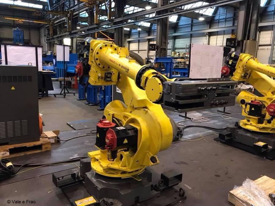 alternanza scuola lavoro è una grande opportunità! bracci meccanici robot