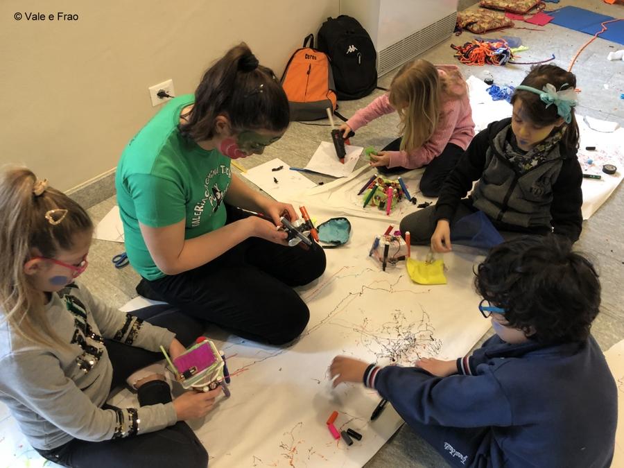 Laboratori di robotica per bambini al museo di Asti bambini bambine