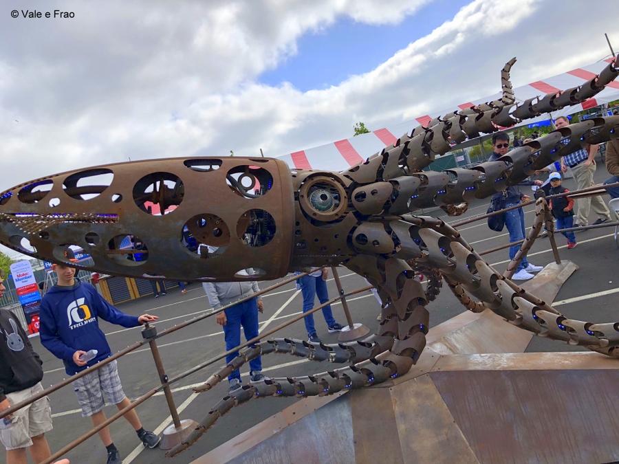 California: Maker Faire Bay Area. creazioni innovazione e robotica