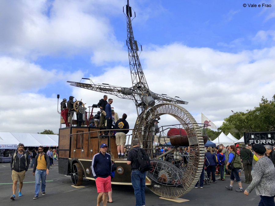 California: Maker Faire Bay Area. invenzioni e creazioni