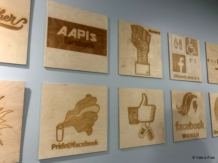 Visitare gli uffici di Facebook in California all'interno