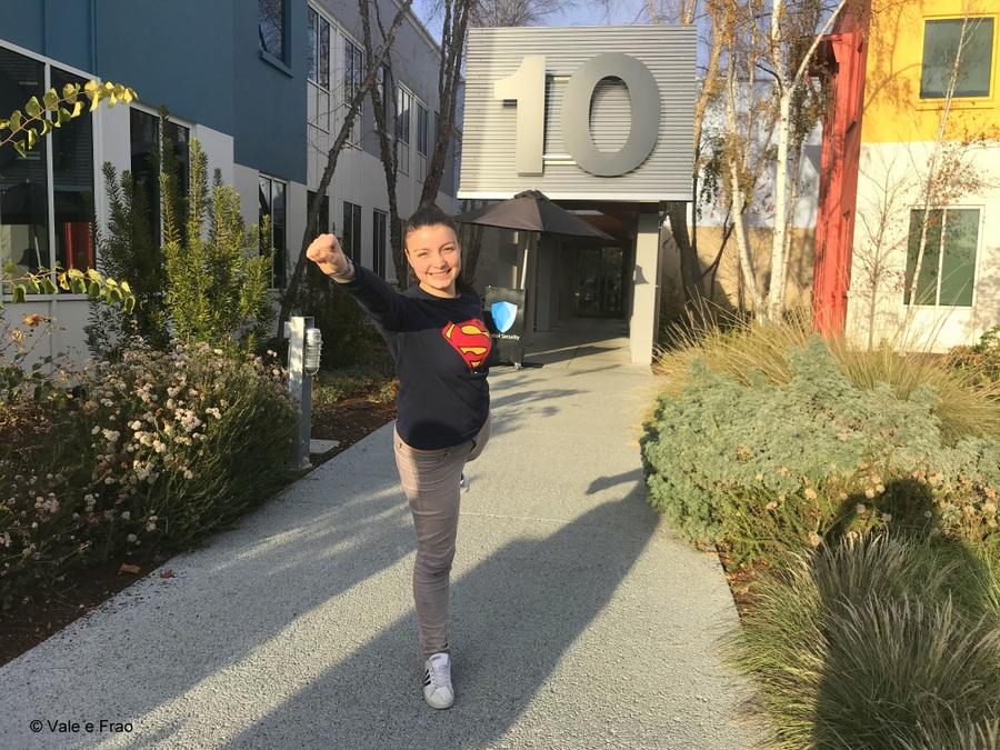 Visitare gli uffici di Facebook in California valeria cagnina