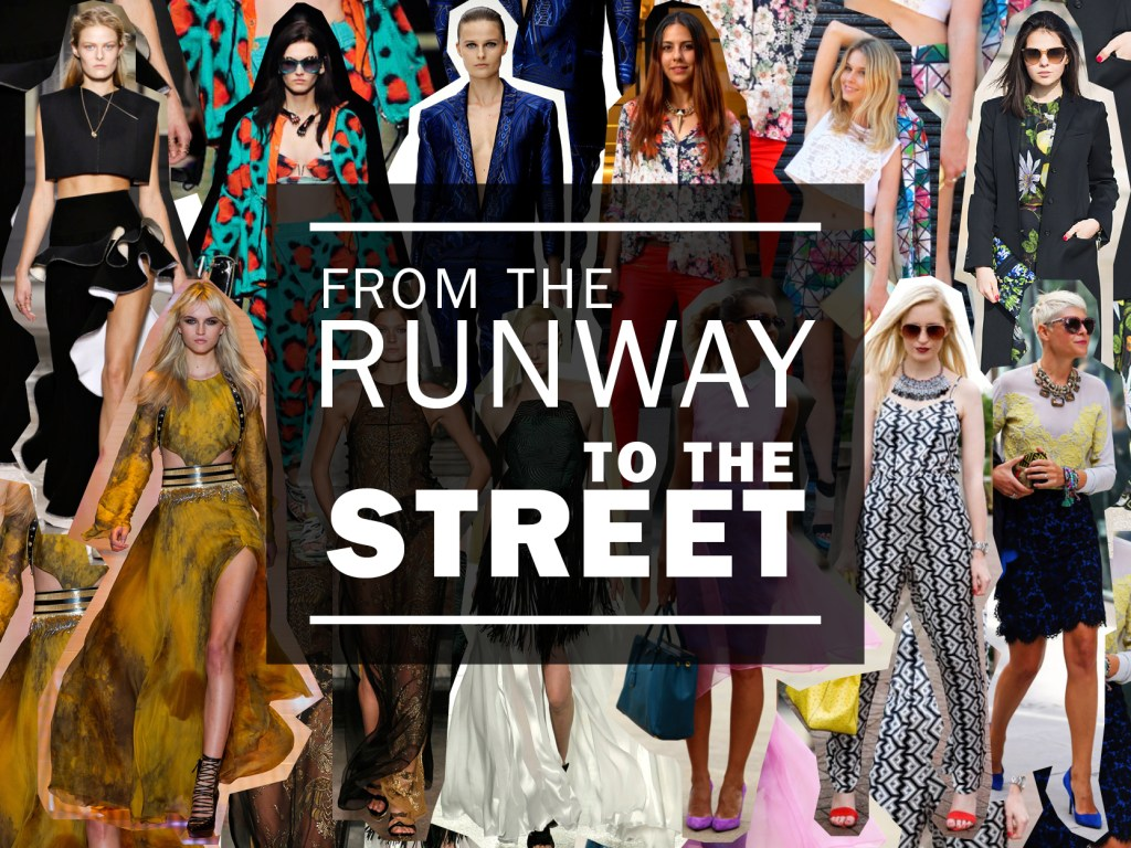 Spring 2013 trends: from the runway to the street