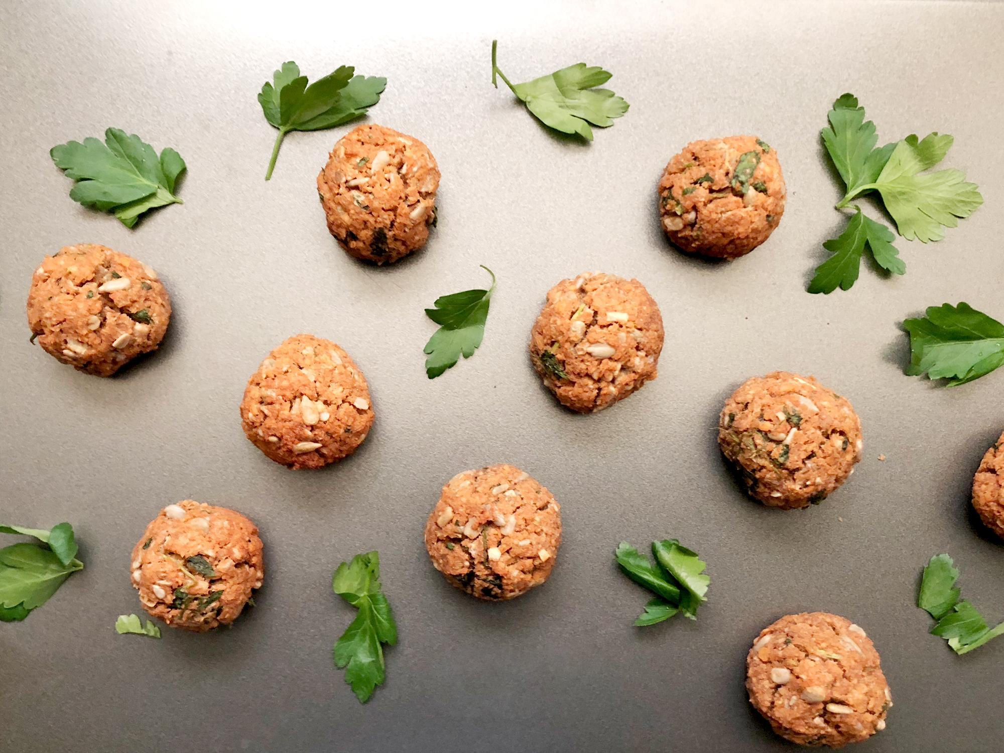 Lentil Fritters | Bolinhos de Lentilha