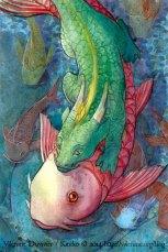 Dragon et poisson 2