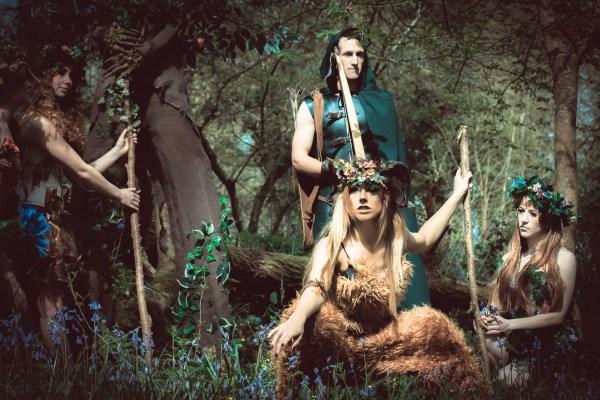 Enchanted Forest Valerian Entertainment Stilt