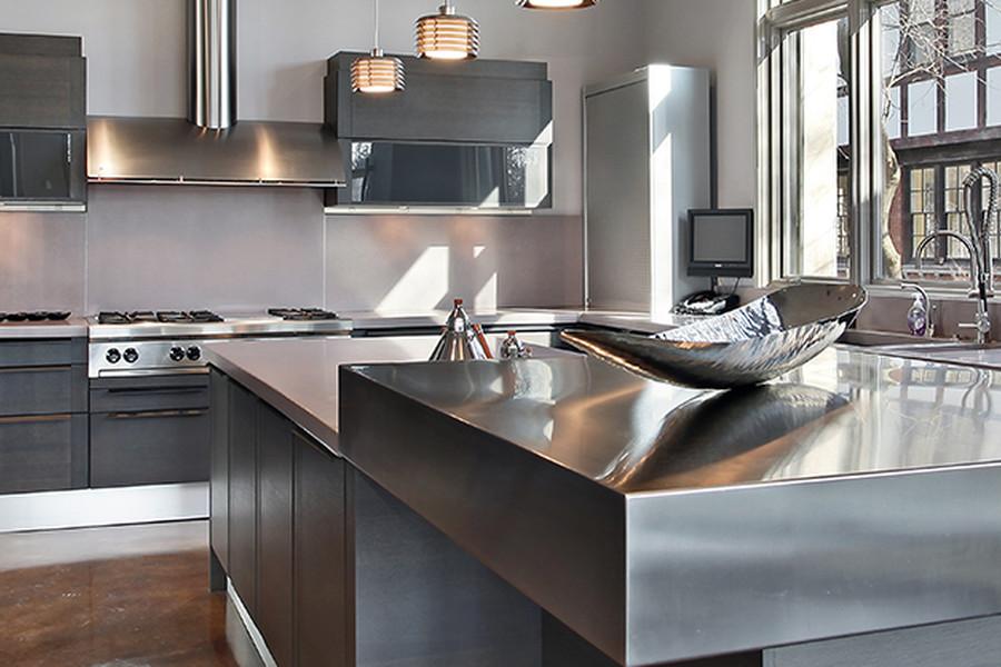 Rivestimenti per cucine dal design pulito e raffinato