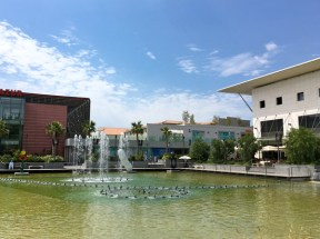 POLYGONE RIVIERA / les fontaines dansantes