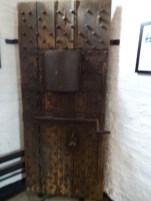 Original prison door