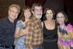 Barry Pearl, Cindy, Michael Lamont and Kay Cole