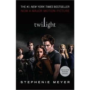 Twilight movie tie-in cover with Robert Pattinson