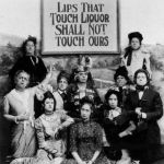 Suffragettes on Repeal Day