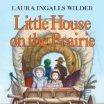 Little House on the Prairie book cover, Laura Ingalls Wilder HarperCollins publishing