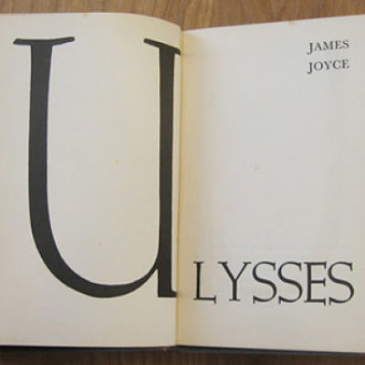 title page of James Joyce's Ulysses