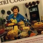 Julia Child on cover of Menu Cookbook