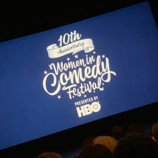 HBO Women in Comedy Festival logo