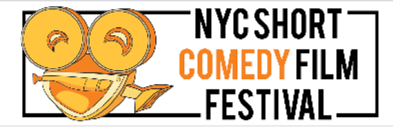logo for the NYC Short Comedy Film Festival
