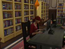 Ashton at the Library