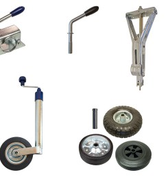 jockey wheel clamps  [ 1500 x 1132 Pixel ]