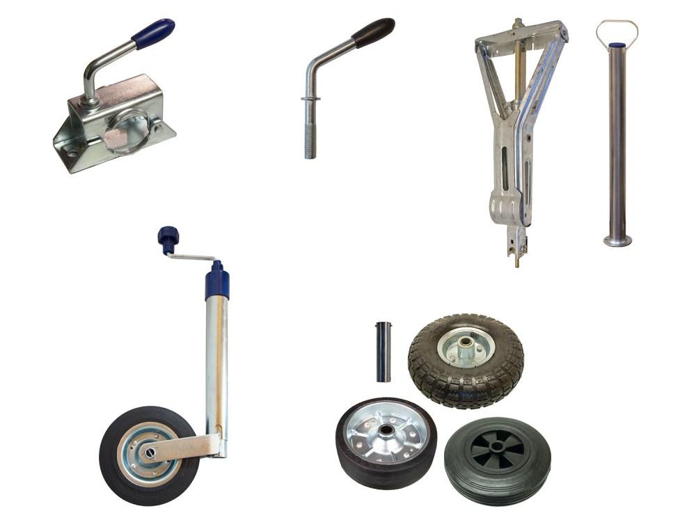 medium resolution of jockey wheel clamps