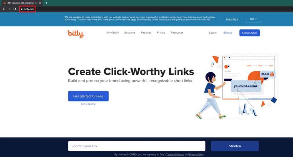 Cara Membuat Bit.ly Untuk Mempersingkat Link Dengan Mudah