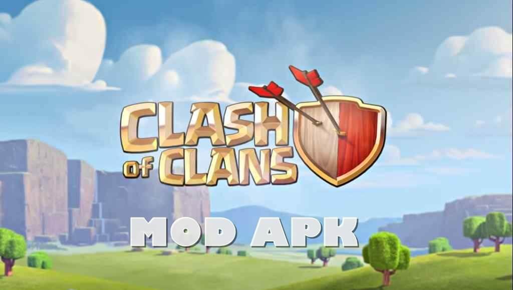 Download COC Mod Apk Unlimited Gems Gold Elixir Versi Terbaru 2021