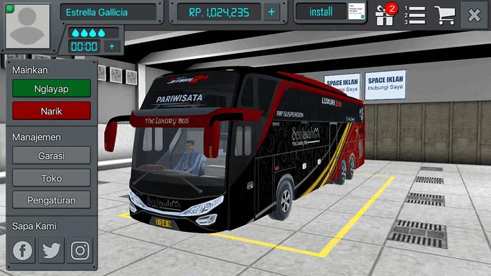 Download Bus Simulator Indonesia Mod Apk 3.5 Unlimited Money Gratis