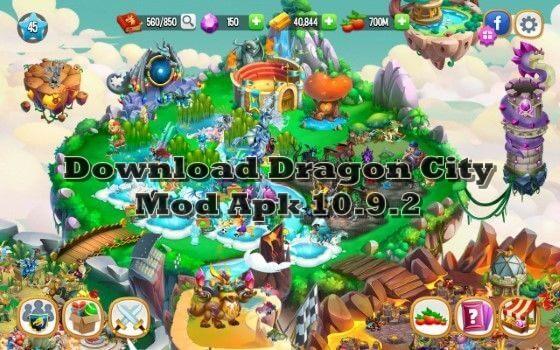 Download Dragon City Mod Apk 10.9.2 Terbaru All Unlimited