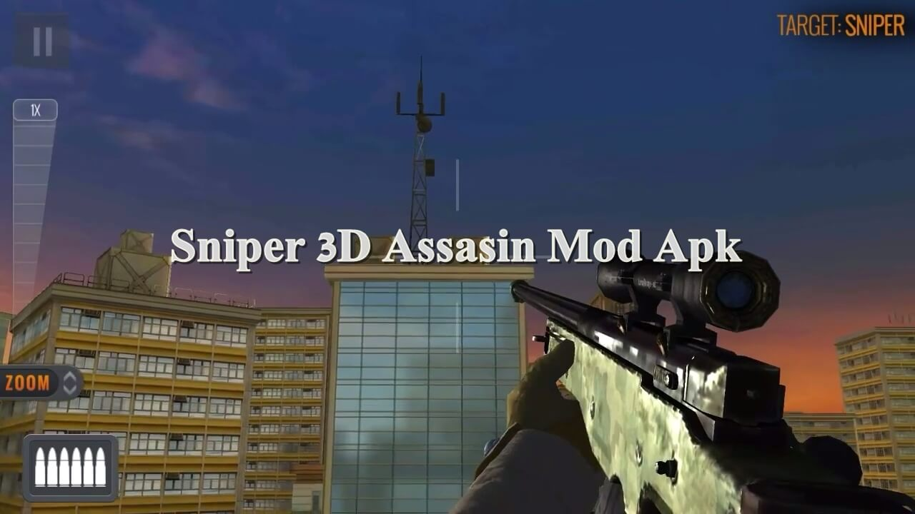 Download Sniper 3D Assassin Mod Apk Unlimited Diamond 2021