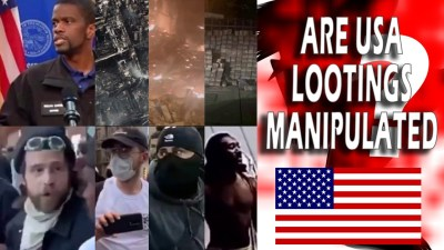 USA riots - USA Looting