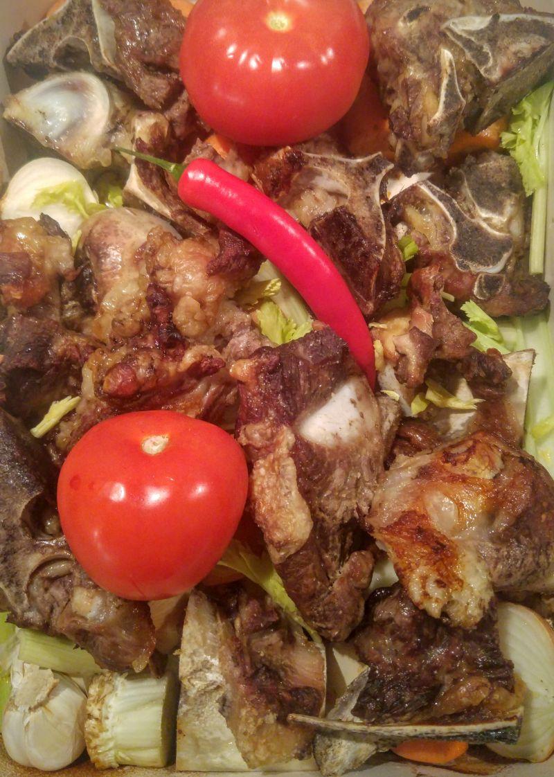 jautienos kaulai daržovės