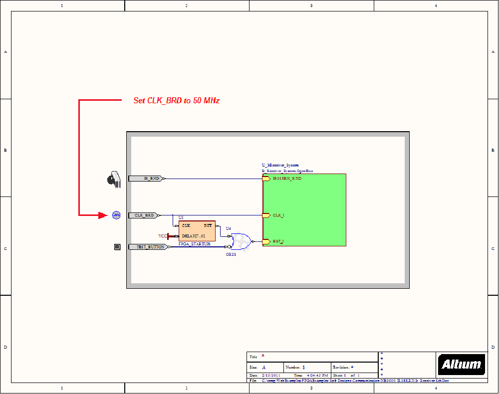 medium resolution of example of ir receiver for the ir control with nb3000 schematic