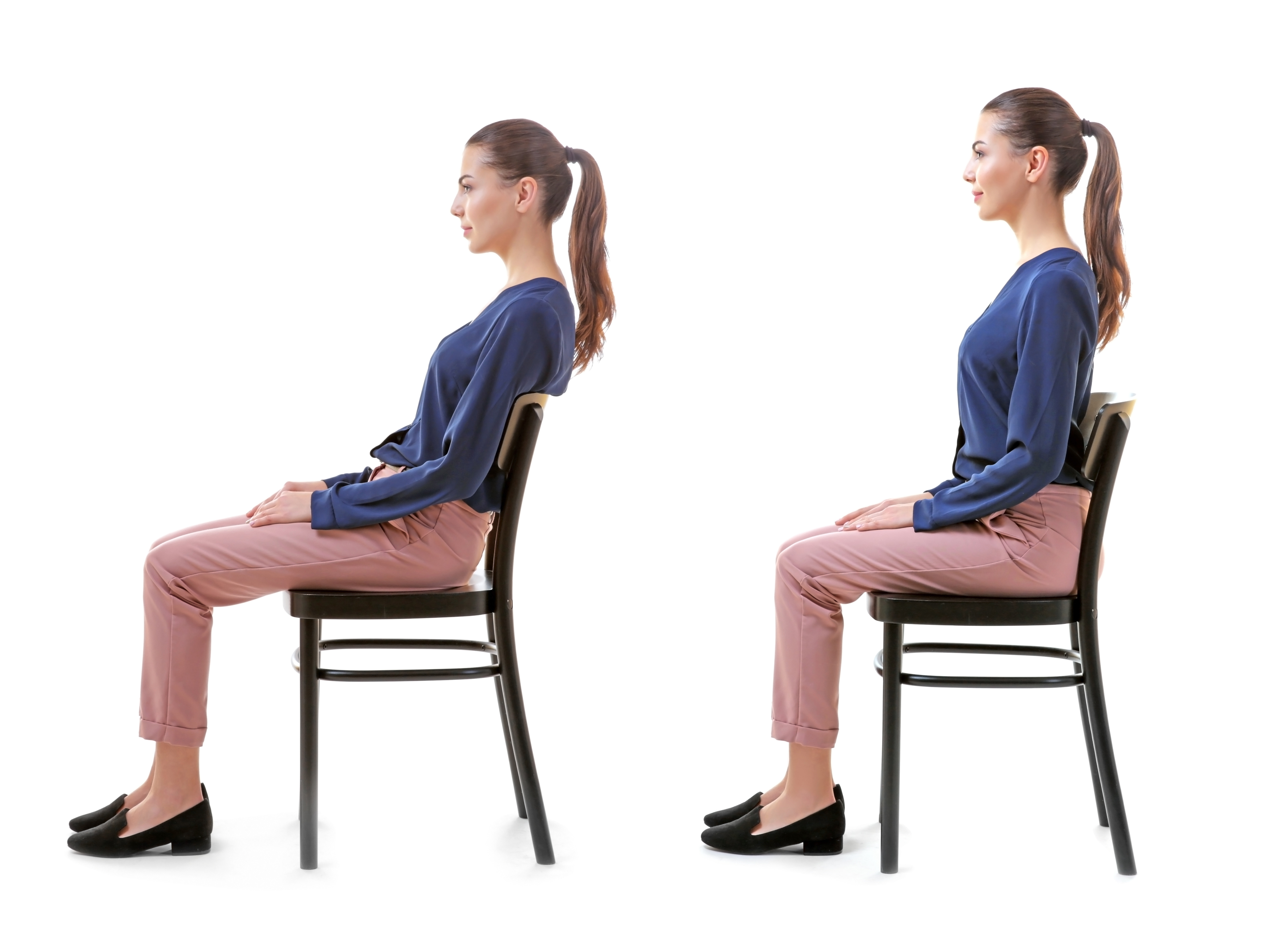 Good posture is important, massage therapy, watch your posture