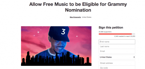 chance-the-rapper-petition-grammys-miami-music-label-valholla