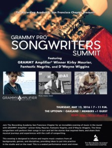 grammy-pro-songwriters-summit-oakland-kirby-maurier-kirby-singer
