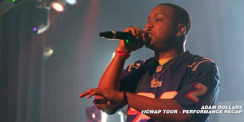 adam dollars - adam dollar$ it comes with a price tour icwap tour