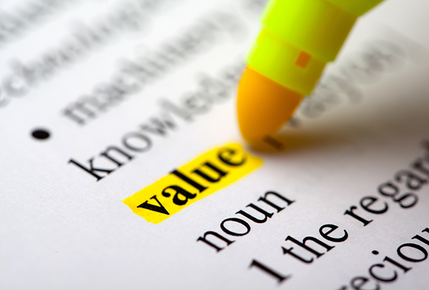 "The word ""Value"" being highlighted."