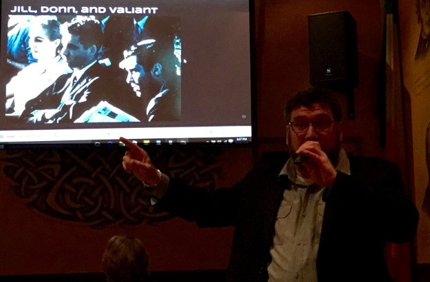 Adam Milat-Meyer discussing Valiant Thor at MUFON Nevada 2016